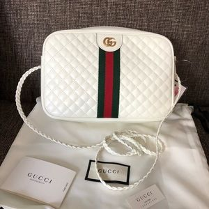 BRAND NEW GUCCI SMALL QUILTED OPHIDIA